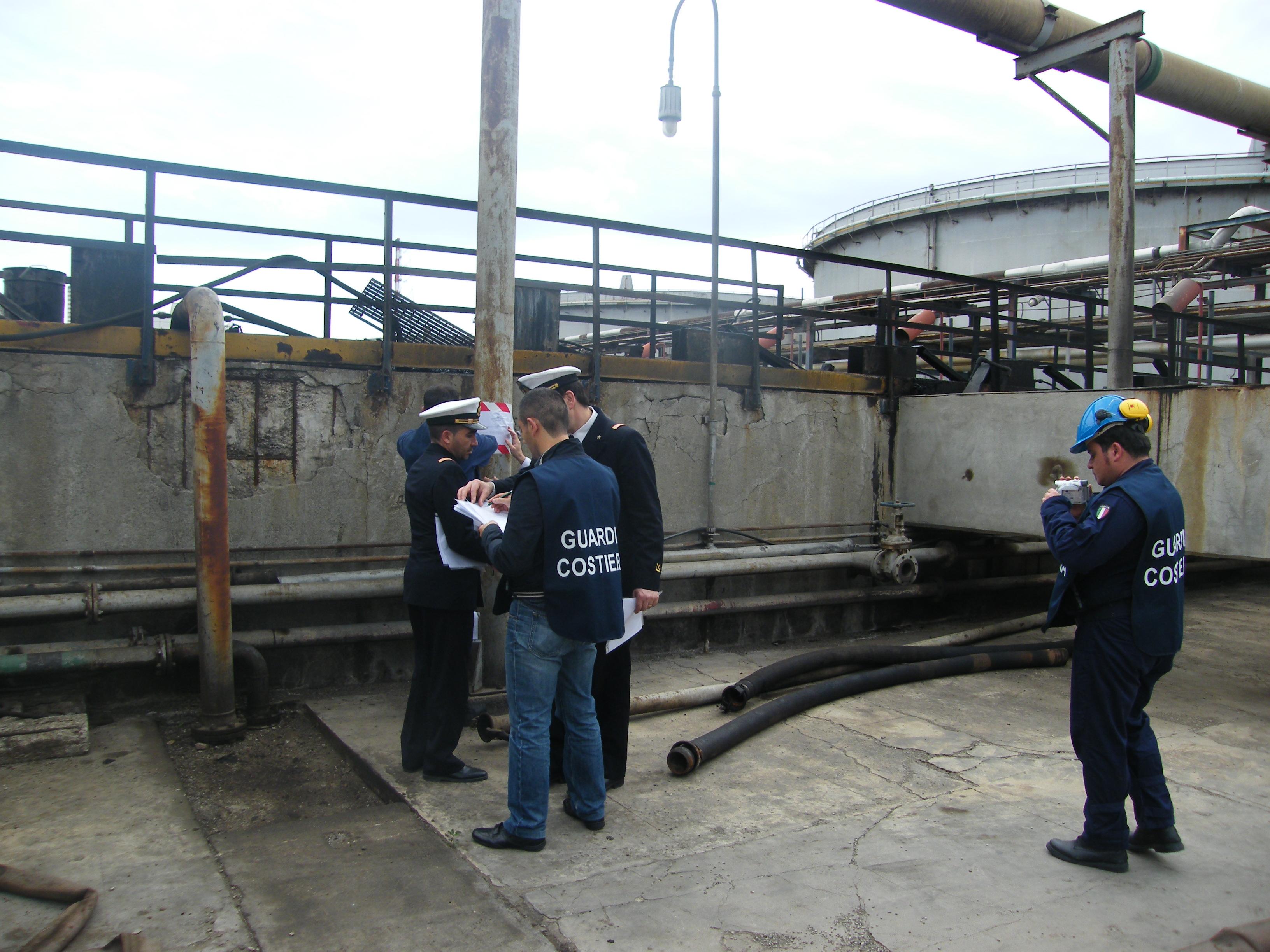 Sequestro raffineria 2