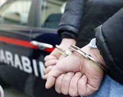 Carabinieri arresto particolare
