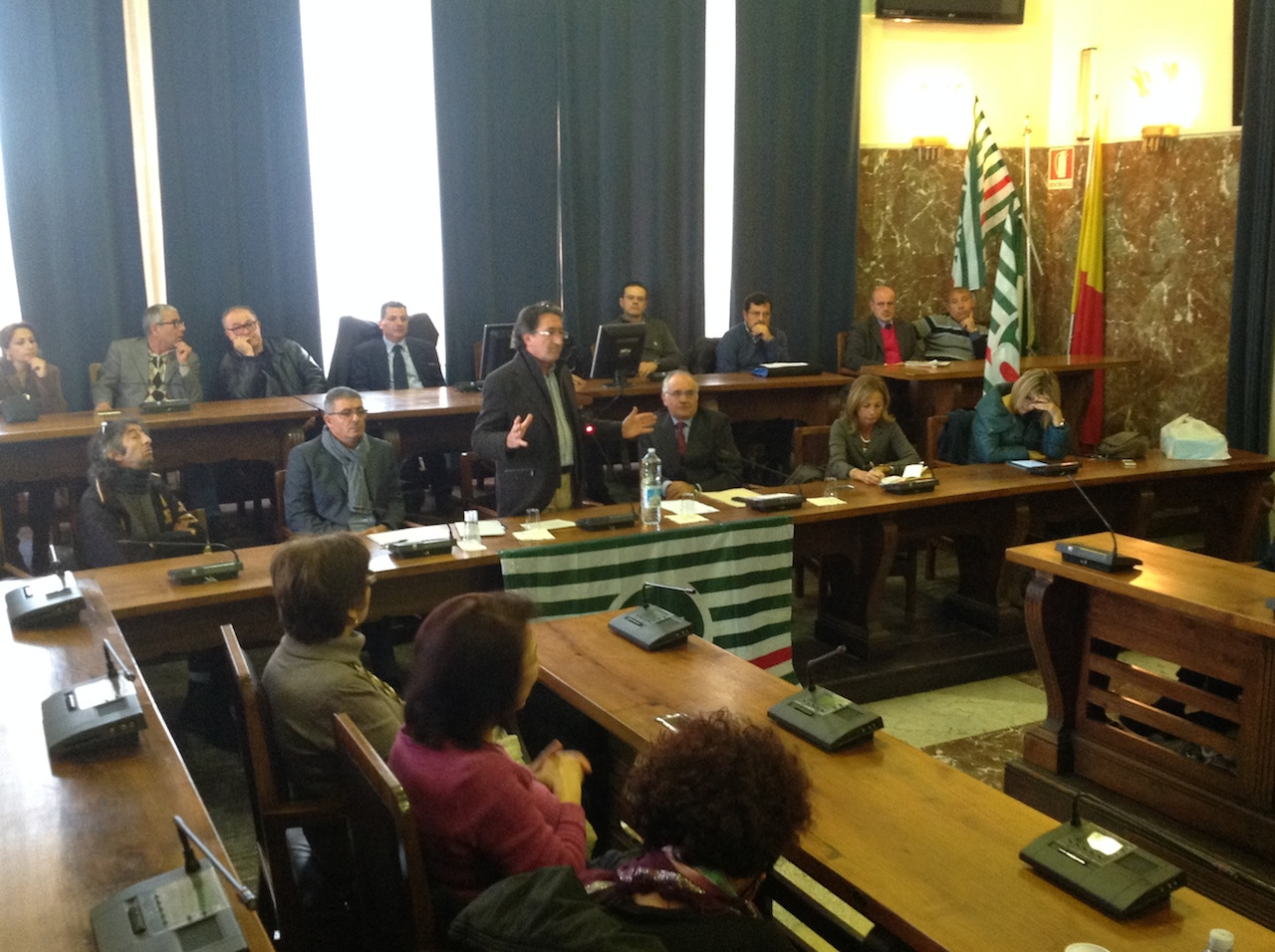 assemblea cisl fp comune messina 4 dicembre 2013