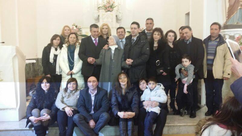 Suor Adelina e famiglia