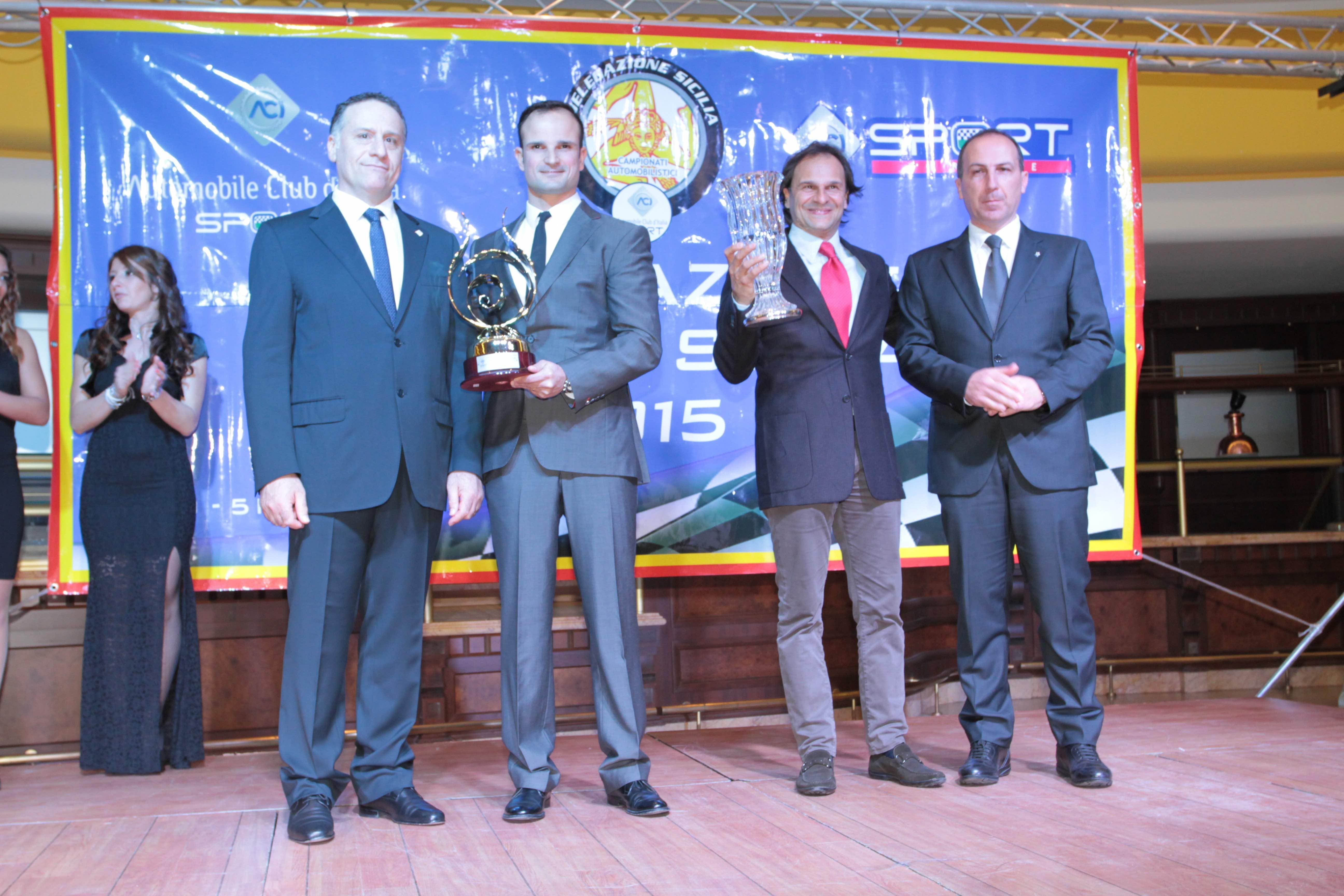 Cefal¹ Pa premiati i campioni siciliani dalla delegazione ACI
