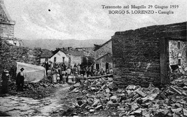terremoto mugello 1919