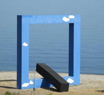 Finestra sul mare Fiumara d'arte