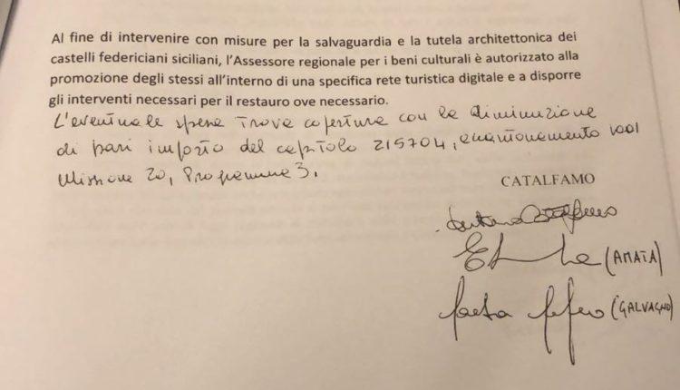 emendamento a.15 catalfamo