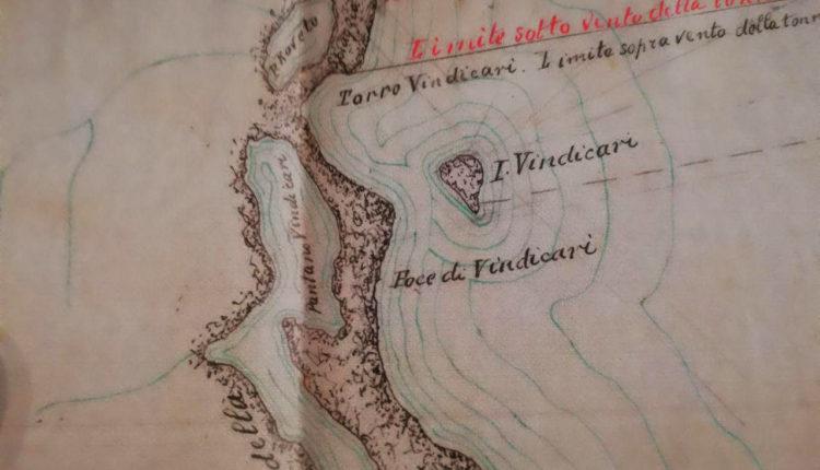 mappa geografica di Vendicari