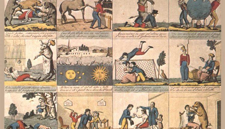 Il mondo alla rovescia. Stampa popolare toscana del 1820