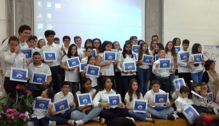 i 45 Giovani Ambasciatori di Pace di Catania