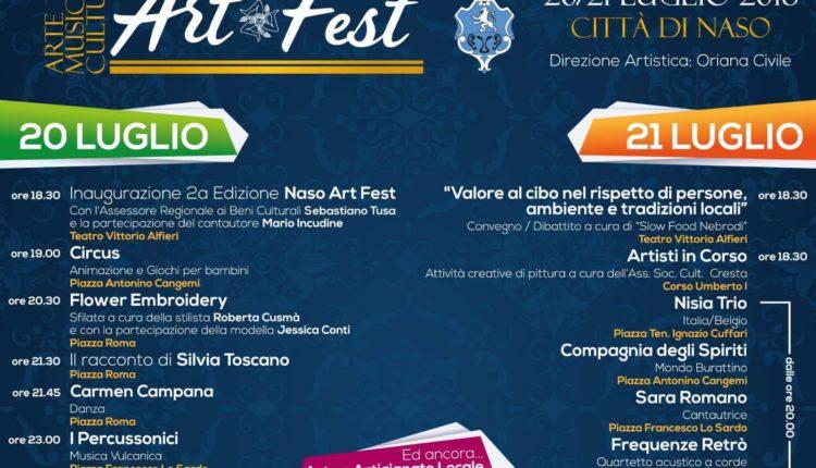 Naso Art Fest 2018