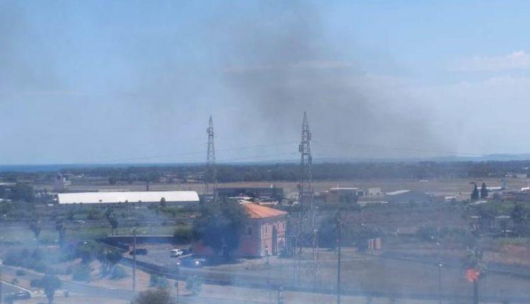 incendio viale castagnola catania (3)