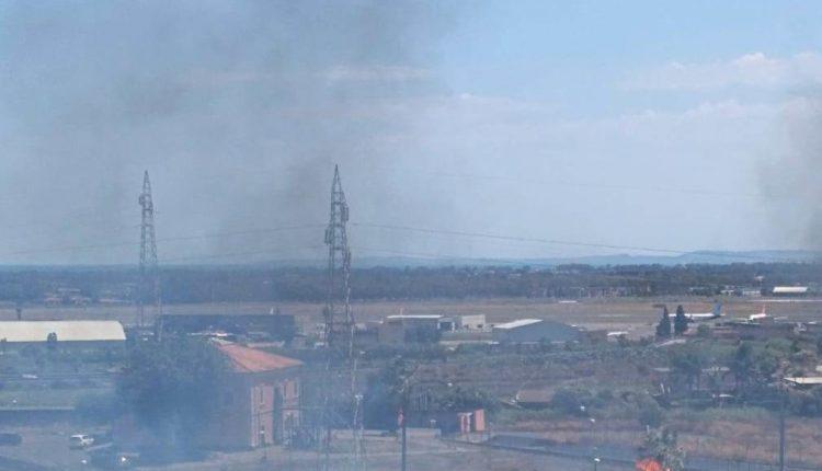 incendio viale castagnola catania (4)