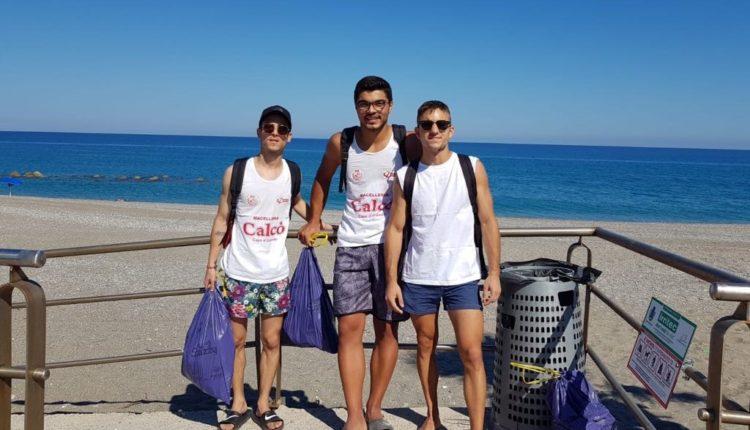 pulizia spiaggia Capo dOrlando