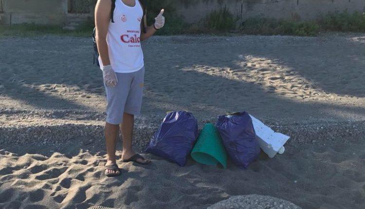 pulizia spiaggia2 Capo dOrlando