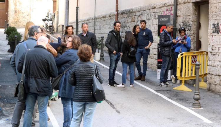 Palermo 4112018 ( FOTO PETYX PALERMO) Le vie dei Tesori: code a ss salvatore