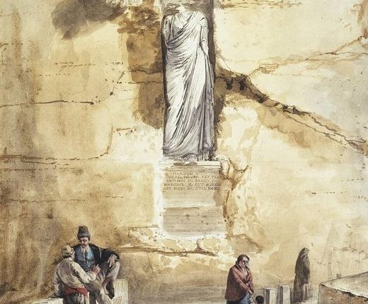 Jean Houel Antiche Statue