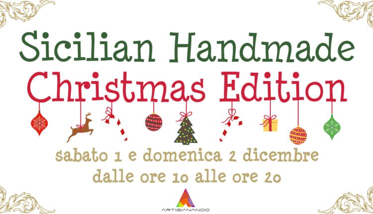 Sicilian handmade market christ. ed.
