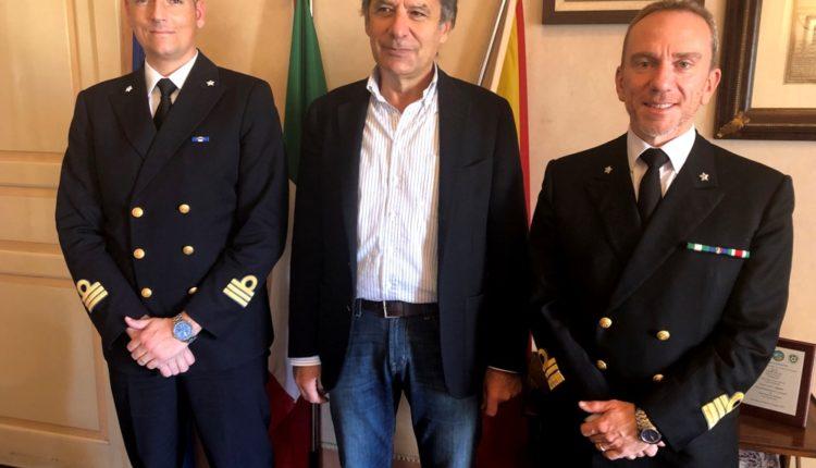 visita Comandante Capitaneria Milazzo