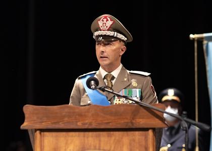 3. Il generale pisciotta pronuncia il discorso di commiato