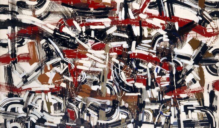 Antonio Sanfilippo, Senza Titolo, olio su tela, 1953, 20_89x116