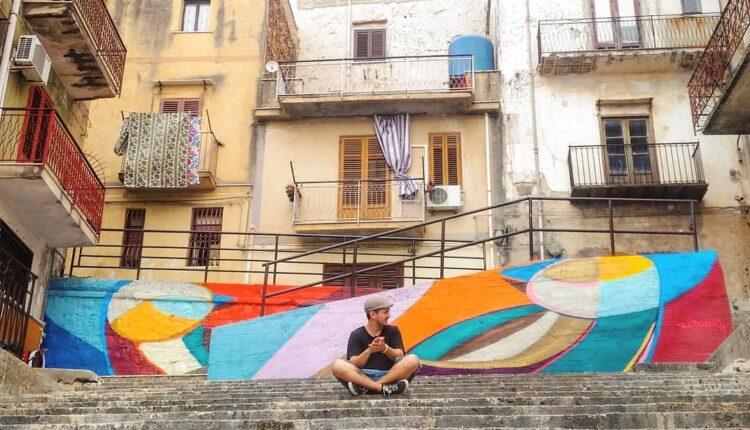 Artista Gui Zagonel a Montelepre
