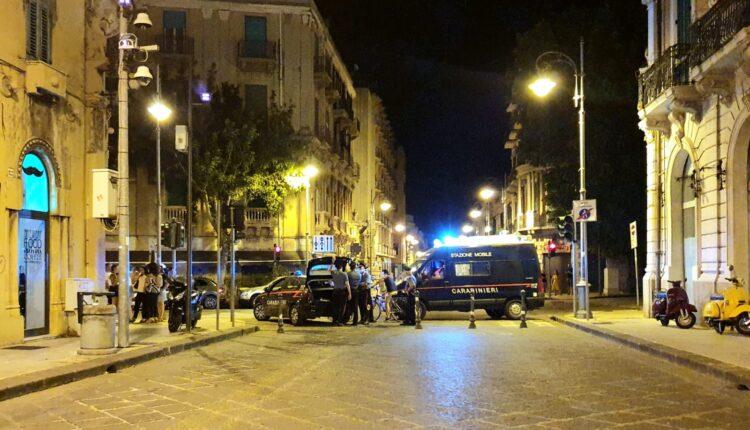 Carabinieri Messina controlli centro città