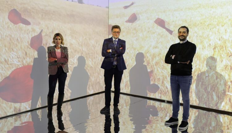 EN, MuseoMito, 7 sx Francesca Mezzano, sindaco Maurizio Dipietro, Giuseppe Saccà