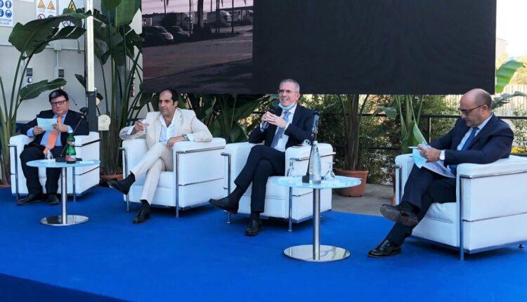 Falcone all'inaugurazione odierna a Catania