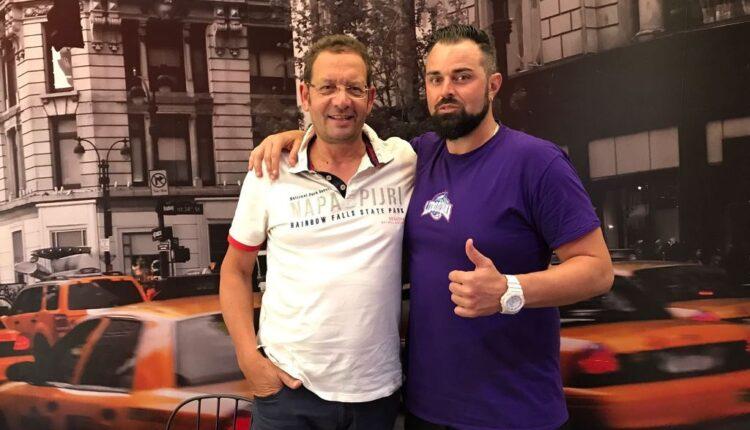 Massimo Zanghì e Claudio Cavalieri