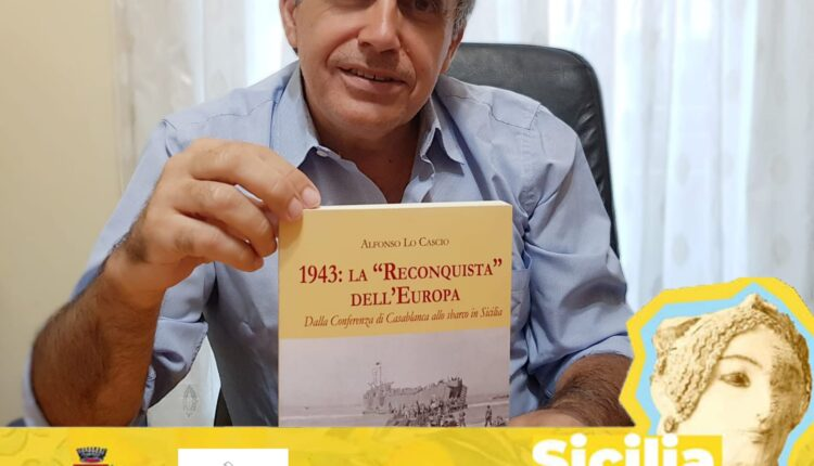 Milazzo. Locandina evento presentazione libro 1943 la Reconquista dell'Europa