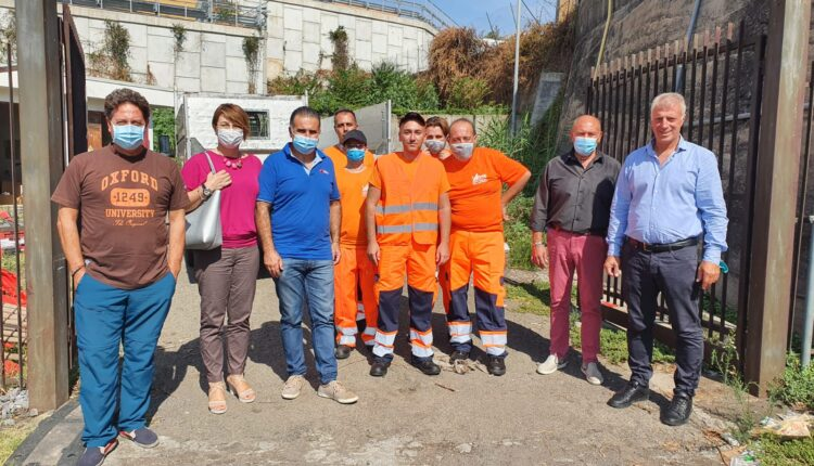 squadra manutenzione verde