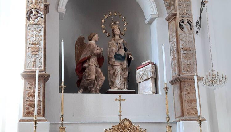 Santuario Annunziata – Gruppo marmoreo del Gagini