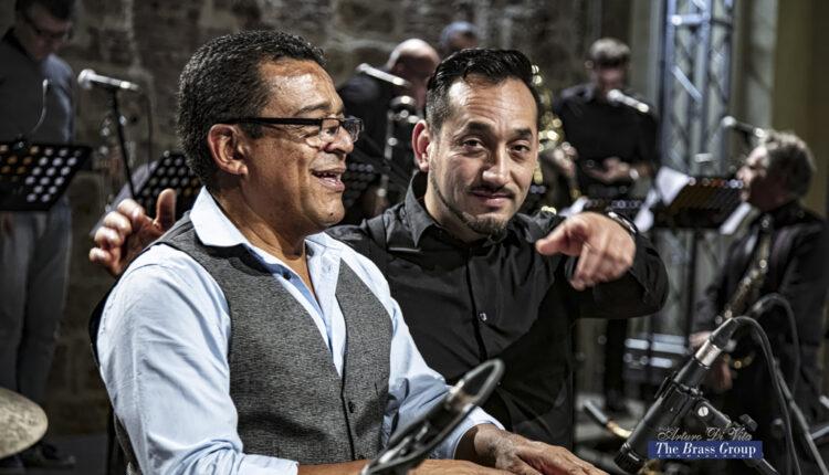 christian tumalan e OJS al real teatro santa cecilia per la fondazone the brass group
