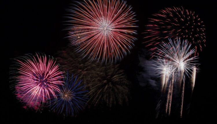 fuochi d'artificio pirotecnici