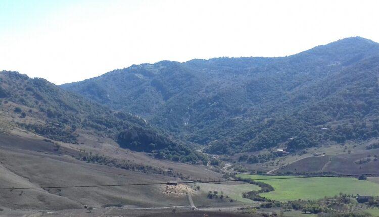Area dove dovrebbe sorgere la diga di Bolo