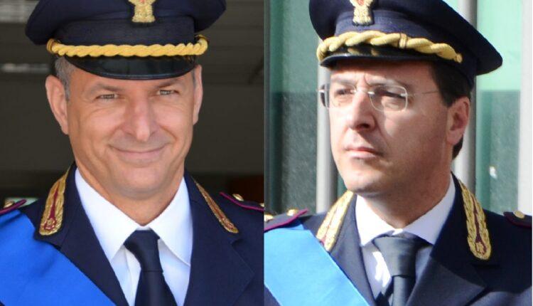 Vice Questore dr Francesco Bandiera – Vice Questore dr Felice Puzzo