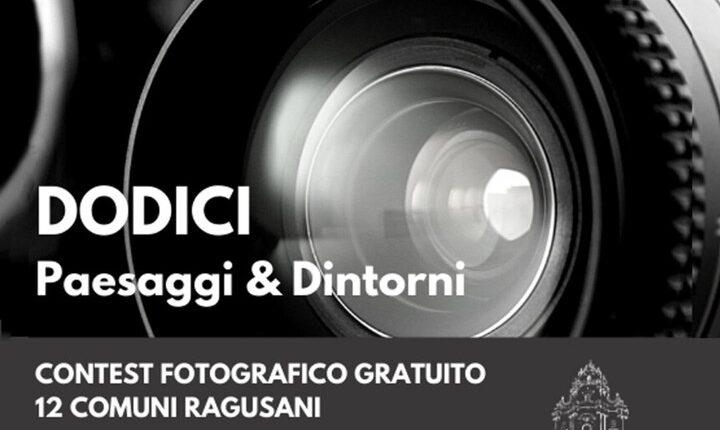 locandina concorso DODICI scatti Ragusa