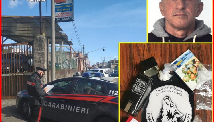 arresto affiliato Santapaola