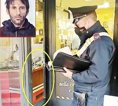 furto barberia Misterbianco