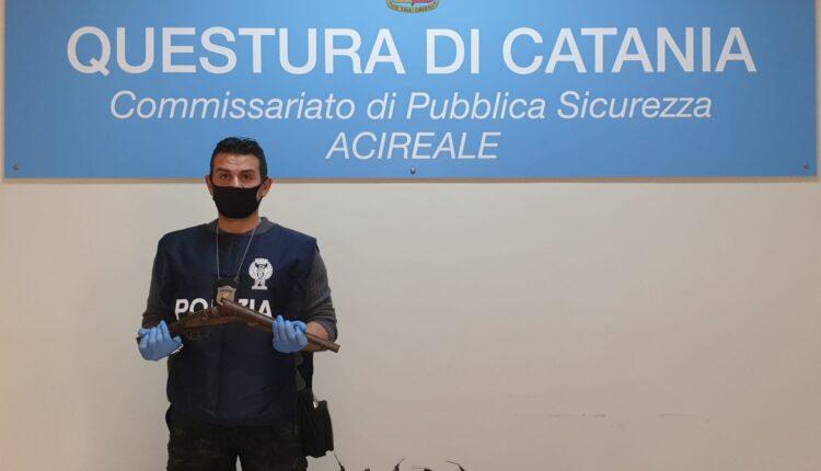materiale sequestrato arresto Florio Giuseppe