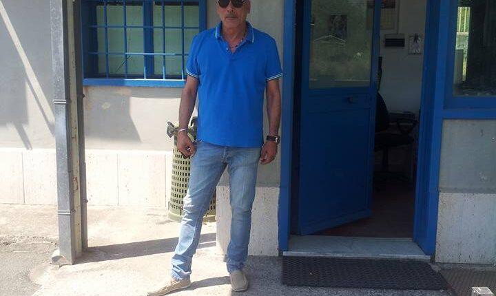 Armando Algozzino a Giarre (foto d'archivio)