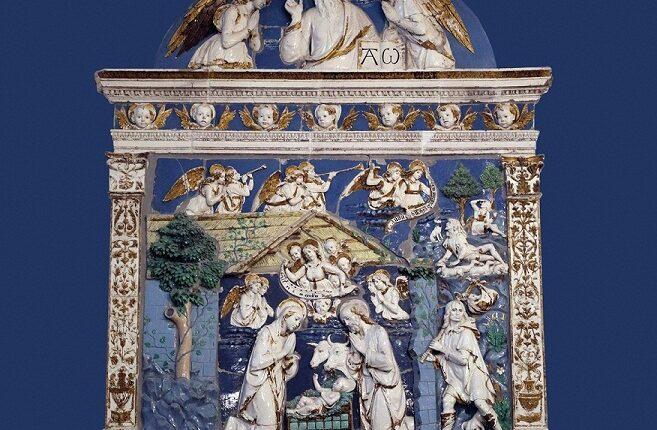 Copertina libro Il primo presepe in maiolica in Sicilia