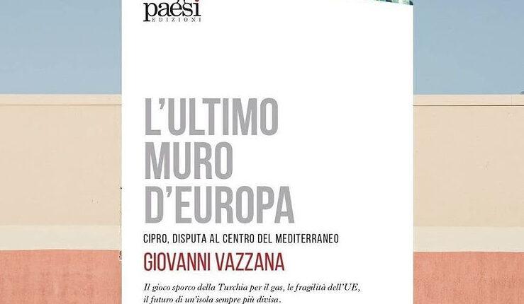 Copertina libro Ultimo Muro Europa