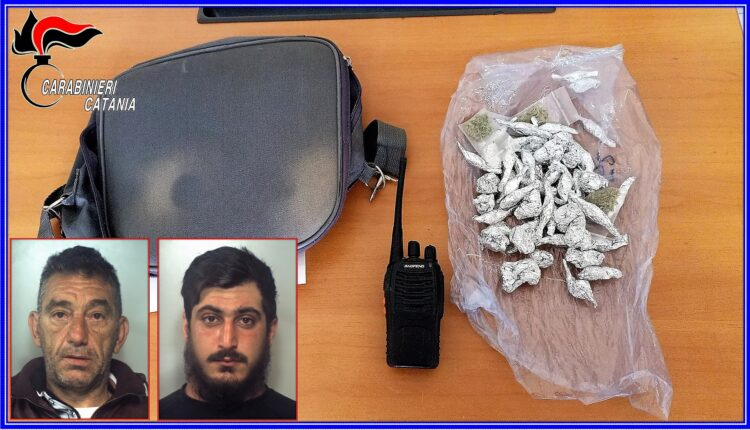 Droga e arrestati Via Capo Passero