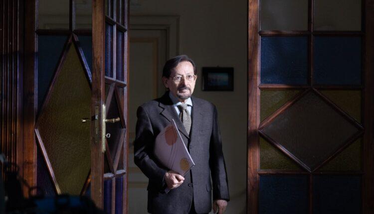 Leo Gullotta sul set di Quel posto nel tempo