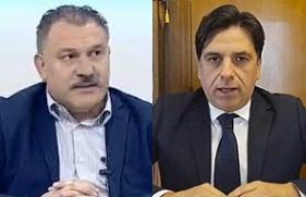 Nella foto da sinistra Calogero-Coniglio-Fsi-Usae e Salvo Pogliese Sindaco di Catania e Città Metropolitana.,