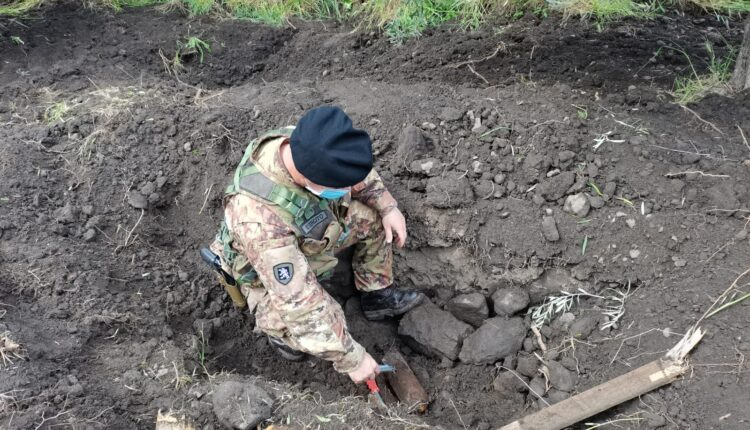 Rinvenimento della bomba ad Adrano (CT)