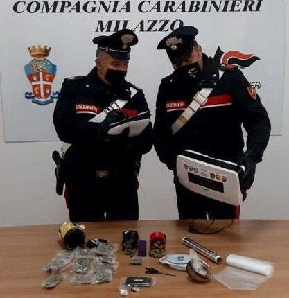 Sequestro droga Milazzo