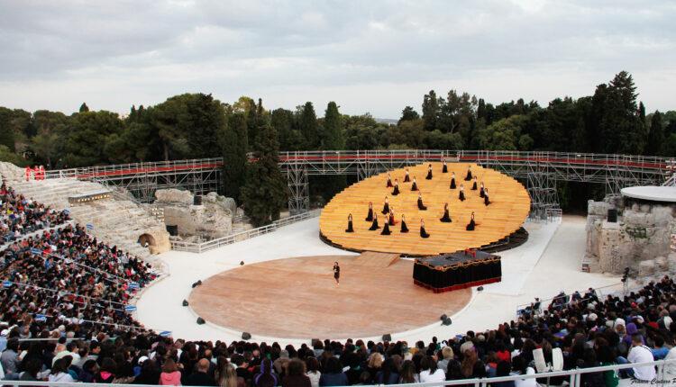 Teatro greco Siracusa – Baccanti – R@ Ph.F.Centaro