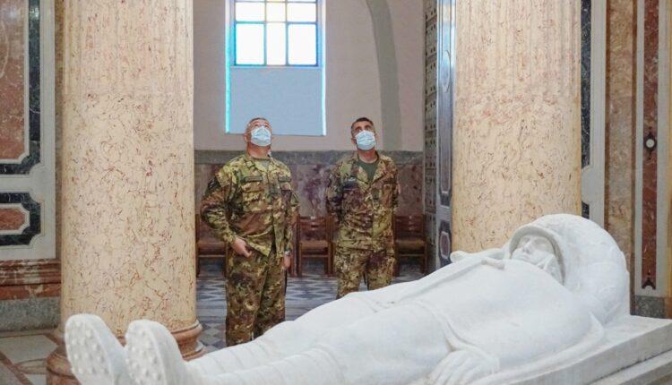 Visita al sacello del Milite Ignoto presso il Sacrario Militare Cristo Re di Messina