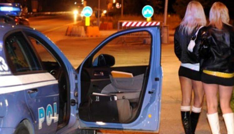 sfruttamento prostituzione polizia – arresto caltanissetta – foto repertorio