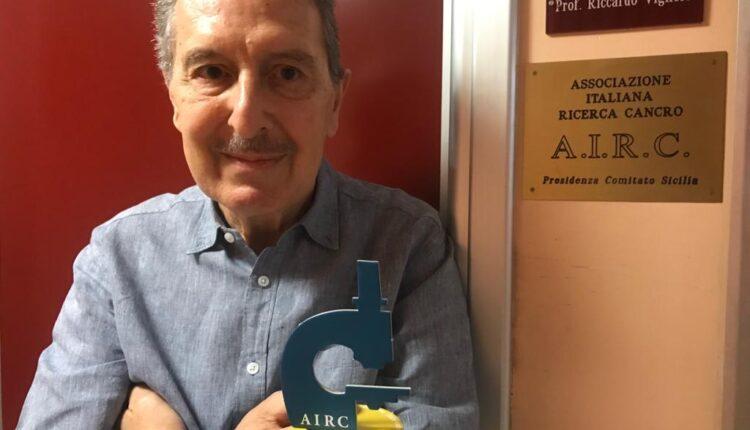 Prof. Riccardo Vigneri, Presidente AIRC Sicilia